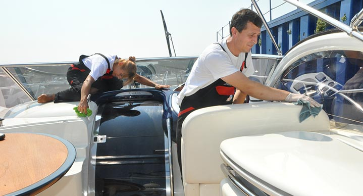 Pulizie barche e yachts-1- servizi e innovazioni