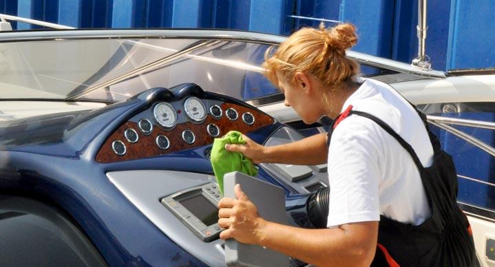 Pulizie barche e yachts-3- servizi e innovazioni