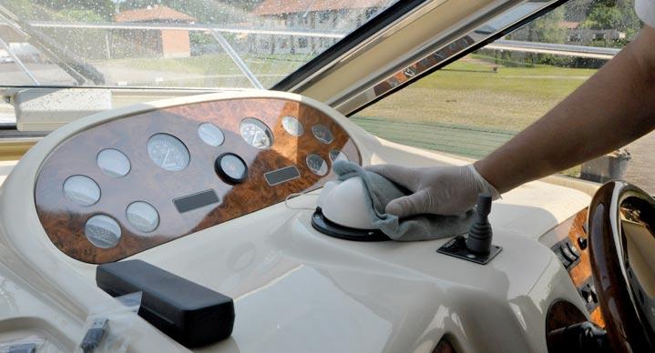 Pulizie interni yacht-5- servizi e innovazioni