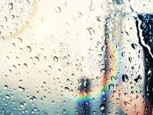 Rimuovere gli aloni di pioggia