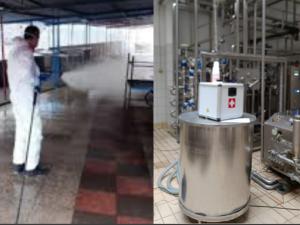 Confronto Disinfezione atomizzazione vs nebulizzazione