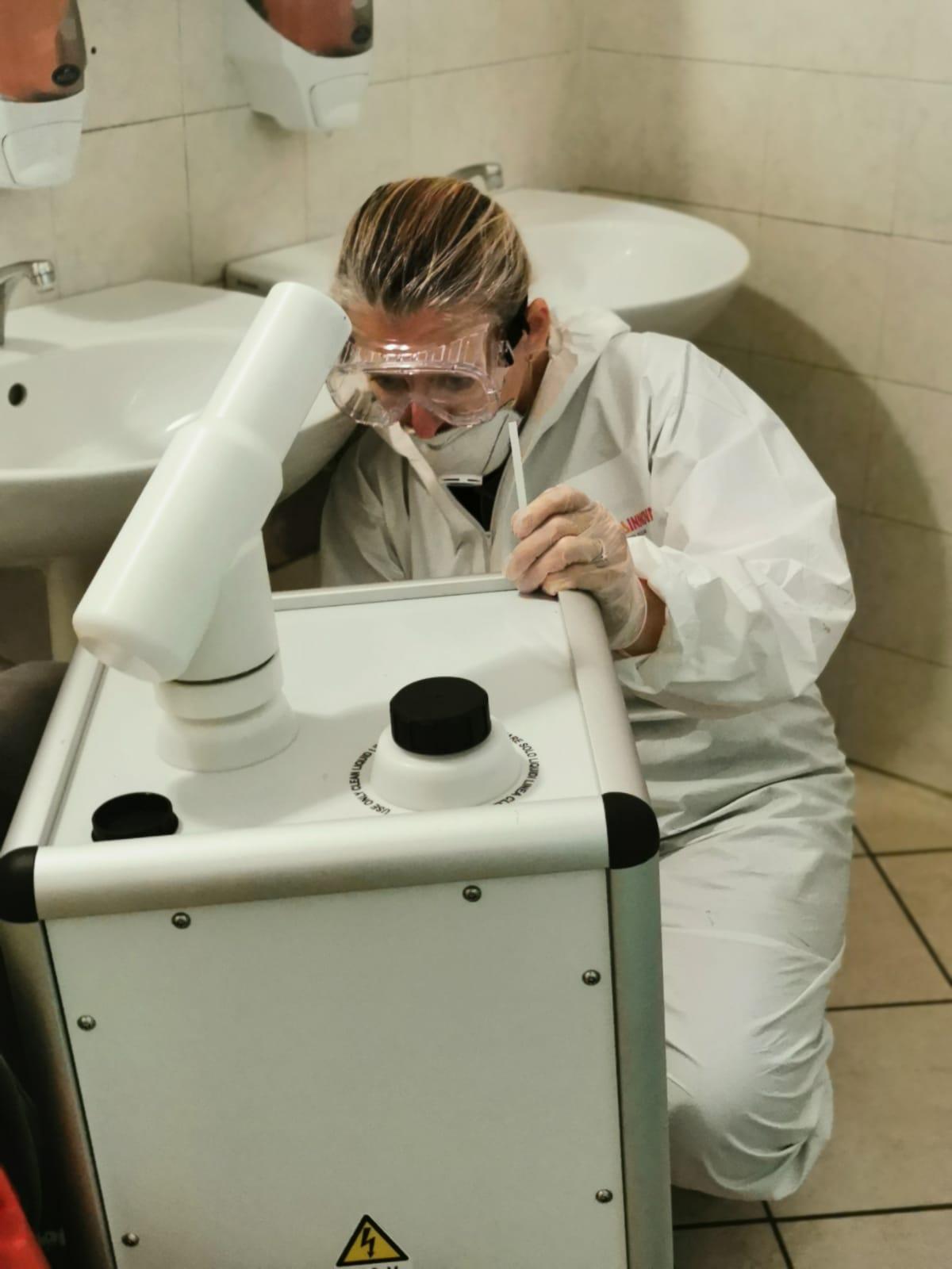 attività disinfezione covid 19